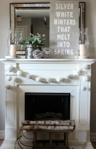 Silver-White-Winters-Mantel